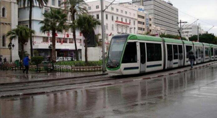 مياه الأمطار تعطل جولان المترو ونقل تونس