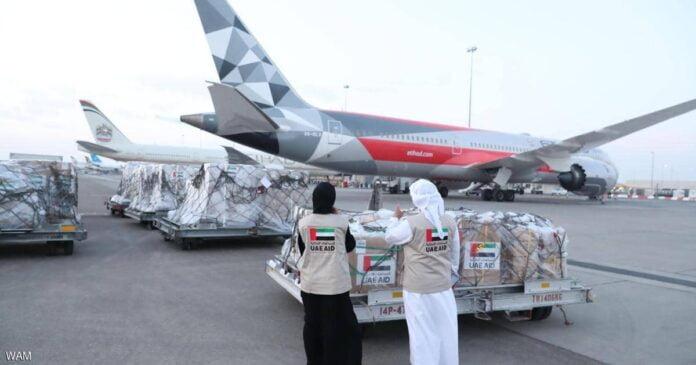 الإمارات تمنح تونس 11 طنا مساعدات طبية