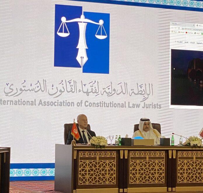 تعيين قيس سعيّد كرئيس الرابطة الدولية لفقهاء القانون الدستوري