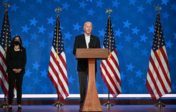رسميا.. جو بايدن الرئيس الـ 46 للولايات المتحدة الأمريكية