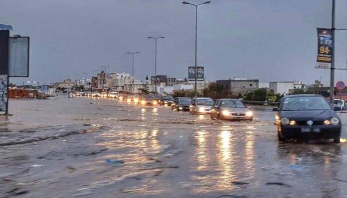 الأمطار في تونس
