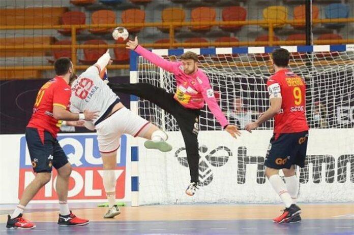 مونديال كرة اليد هزيمة المنتخب التونسي أمام إسبانيا