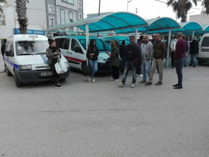 إحتجاجات لأصحاب سيارات اللواج