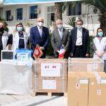 La France fait don d'équipements médicaux à la Tunisie