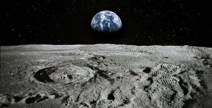 سطح القمر