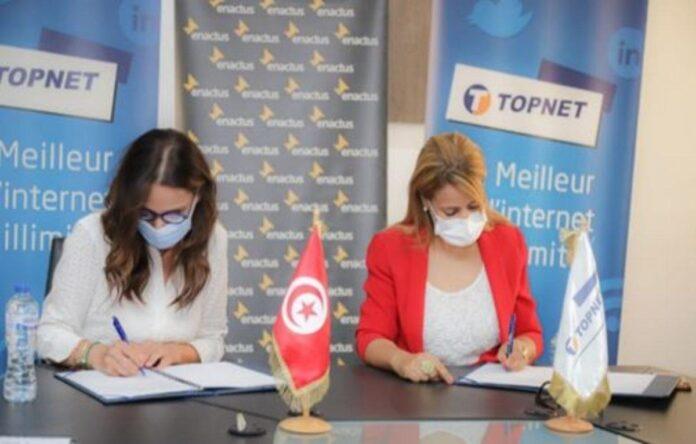 TOPNET et ENACTUS signent un partenariat stratégique
