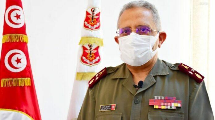 مدير عام الصحة العسكرية الفريق مصطفى الفرجاني