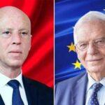 Josep Borrell-Selon un communiqué publié le jour de l'entretien téléphonique avec la Présidence de la République, Kais Saied a expliqué à Josep Borrell les raisons de l'annonce des mesures exceptionnelles en Tunisie, soulignant, en substance, que l'Etat tunisien est sur le point de effondrer.